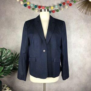 Brooks Brothers Cotton Wool Denim Blazer